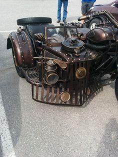 - steampunktendencies: Steampunk Designed Bike...