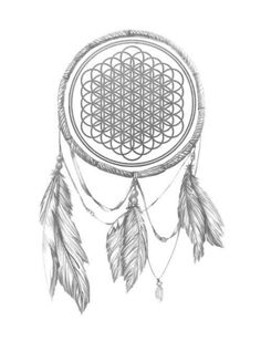 Bring me the horizon... can they actually make a dreamcatcher that looks like this??
