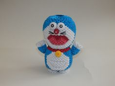 3d origami Doraemon  tutorial : https://youtu.be/_tlaZLx-Cys Model created by Campean Petru Razvan