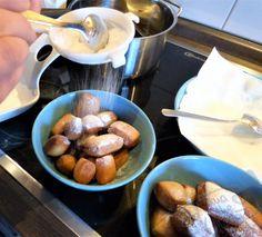 Selbstgemachte Mutzen - ganzes Rezept auf tamatheunicorn.de #homemade #mutzen #schmalzgebäck #hefe #diy #selbstgemacht #baking #backen #lecker #tasty