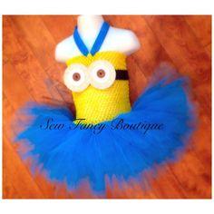 Minion Inspired Tutu Dress