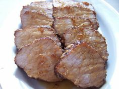 Brown Sugar Spiced Pork Loin - Made this tonight for dinner.  Alex & Grant loved it.  John said it was too sweet.  Maybe less sugar and a little more hot sauce next time .