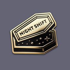 Night Shift enamel pin by Super Team Deluxe Battle Jacket, Buffy Summers, Jacket Pins, Night Shift, Cool Pins, Hard Enamel Pin, Buffy The Vampire Slayer, Pin And Patches, Up Girl