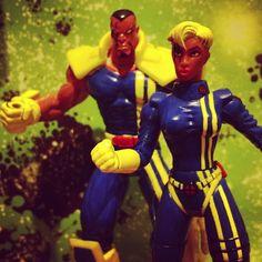 Bishop and Shard of X-Men
