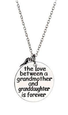 Show your boundless love for your darling granddaughter, mother or grandmother with this beautiful necklace - SAVE 68% off - Sale ends April 7th 2015 @ 12 pm.