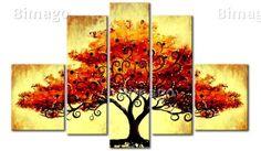 Tavlor Höst träd - klicka för att förstora