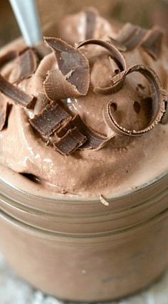 Homemade Chocolate Frosty Homemade Chocolate Frosty ~ It's super simple to make and absolutely tasty! Homemade Chocolate Frosty Homemade Chocolate Frosty ~ It's super simple to make and absolutely tasty! Frozen Desserts, Frozen Treats, Just Desserts, Delicious Desserts, Sweet Desserts, Copycat Wendy's Frosty Recipe, Wendys Frosty Recipe, Chocolate Frosty, Homemade Chocolate