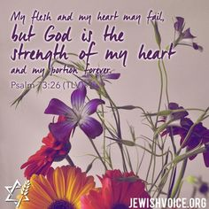 """""""""""My flesh and my heart may fail, but God is the strength of my heart and my portion forever. Psalm 73 26, Psalm 3, Scripture Of The Day, Praise God, The Voice, Pray, Lord, Bible, Coding"""