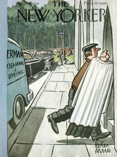 The New Yorker - Saturday, June 16, 1956 by : Peter Arno