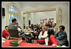 """Presentación de """"Siete años en la China, diario de un profesor"""", en Instituto de Cultura China (2014)"""