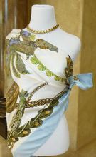 """Rare Vintage Hermes """"Le Timbalier"""" Scarf $320"""