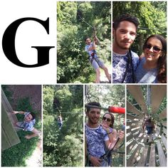 G is for Go Ape! A high ropes course adventure date that we absolutely loved! #AlphabetDating #AlphabetDates