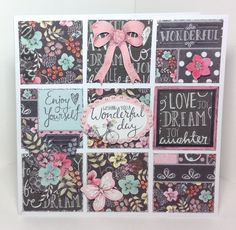 Chalkboard collection. Card designed by Julie Hickey.