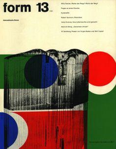 form N° 13. 1961. Cover: Karl Oskar Blase. © Verlag form GmbH & Co. KG