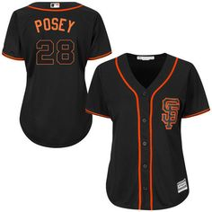 Women's San Francisco Giants Buster Posey Majestic Cream 2015 Cool... ($100) ❤ liked on Polyvore featuring accessories, mlb jerseys, sf giants jersey, san francisco giants jersey and major league baseball jerseys