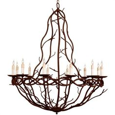 Great light fixture, bring the woods inside