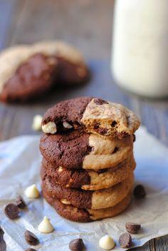 Half and Half Cookies.