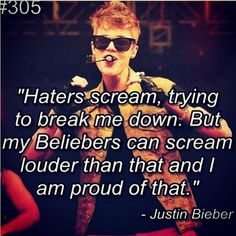 Beliebers will always b there 4 JB bcuz we Believe n him he's #HisHappinessIsAllThatMattersToUs
