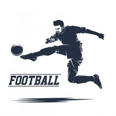 Soccer and football logo vector Sport Football, Soccer, Football Squads, Volleyball, Logo Gallery, Sport Craft, Sport Icon, Sport Body, Sport Quotes