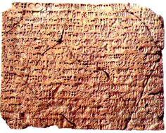 Susa'dan proto-Elam dilinde bir hesap metni.