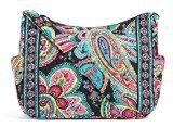 Women's Shoulder Bags - Vera Bradley On the Go Shoulder Hobo Style Handbag in Parisian Paisley -- See this great product.