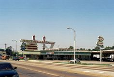 Johnie's Broiler, Downey, California. There from 1958 until 2001. Firestone and Old River School Road (?)