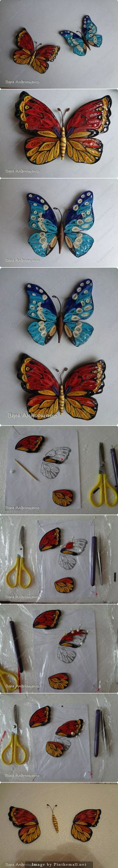 BUTTERFLY TUTORIAL http://stranamasterov.ru/node/660363 - created via http://pinthemall.net