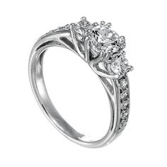 Spence Diamonds: Diamond Engagement Rings Made to  Order Style# 7607