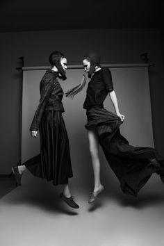 Those Dancing Days Are Gone   Julie,  Ola   Krzysztof Wyzynski #photography   Qvest Magazine