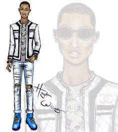 Pharrell by Hayden Williams