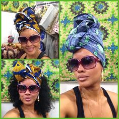 Meu turbante,minha coroa!!! Tecido Africano ❤️