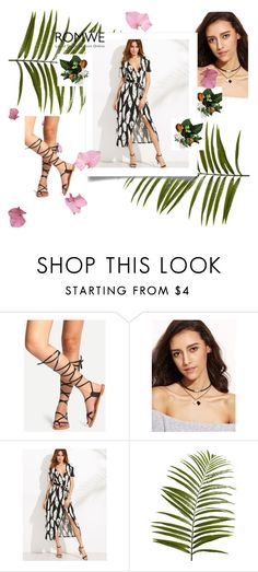 """Romwe 9"" by amelaa-16 ❤ liked on Polyvore featuring Pier 1 Imports and romwe"
