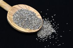 Chia seeds (salvia hispanica) have become one of the most popular superfoods in the health community. They're easy to digest when prepared properly and a very versatile ingredient that adds easily to recipes. Plus, chia seeds Read more… Lower A1c, Dieta Hcg, High Energy Foods, Salvia Hispanica, Chia Benefits, Health Benefits, Plantain Benefits, Healthy Energy Drinks, Roh Vegan
