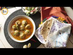 Chicken Kofta Curry Recipe By Food Fusion - YouTube Kofta Curry Recipe, Chicken Gravy, Curry Recipes, Hummus, Desi, Meals, Ethnic Recipes, Youtube, Food