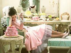 Victorian themed dessert table