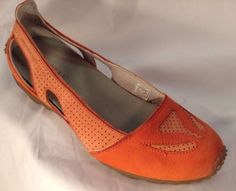MERRELL Women's SHOES Size 9.5 M Leather Flats Oceania Melon