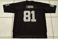 13069ad73 Vintage REEBOK Oakland Raiders Tim Brown NFL Jersey Men s 3XL  Reebok   OaklandRaiders