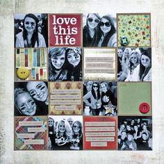 Clever if you do a collage print with blanks. Can embellish the blanks as above. Saves a LOT of cutting