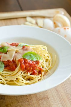 The Simplest Tomato Sauce - I have been making this for years.  Love it!