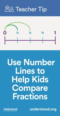 Many Grade Schoolers Struggle To Understand Fractions Research Shows That A Number Line Is