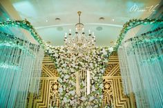 V Concept by Misa Vu Luxury Events Thanh+Thao #misavuluxuryevents #MisaVu #Decorations #Angelic #Wedding #luxury #white #events #stage #aisle #architecture #party #space #sketch