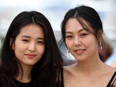 Kim Tae-Ri & Kim Min-Hee (Agassi) |.| Cannes 2016
