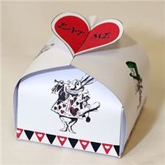 Party Ideas UK Alice in Wonderland Box