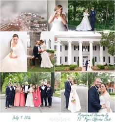 Marymount University and Ft. Myers Officers Club wedding
