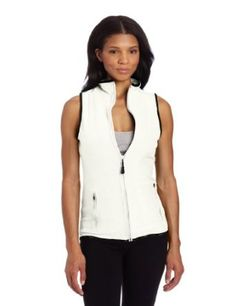 Calvin Klein Performance Women's Stretch Microfleece Vest, Milk, X-Large Calvin Klein Performance. $31.99