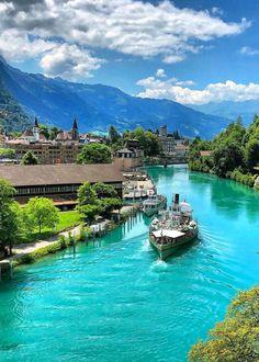 Interlaken, Switzerland. Photo by swissmonamour.