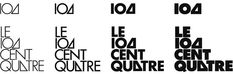 104 / Le Cent Quatre  by Experimental Jetset