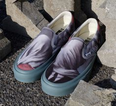 Rene Magritte, Sneaker Release, Classic Sneakers, Opening Ceremony, Street Wear, Vans, Slip On, Footwear, Shoe Bag