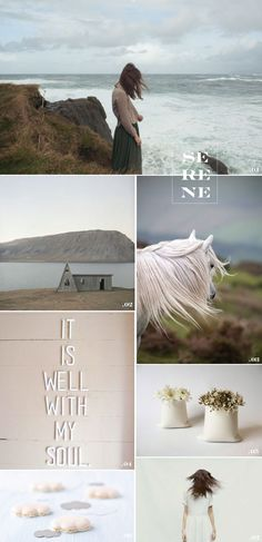 The Plumed Nest: MoodBoard | Serene |