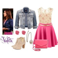 Violetta Castillo by stylewiktoria on Polyvore featuring mode, RED Valentino, maurices, Cleo B, Kate Spade and Marc by Marc Jacobs